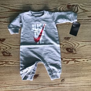 Nike Baby Just Do It Graphic Coverall